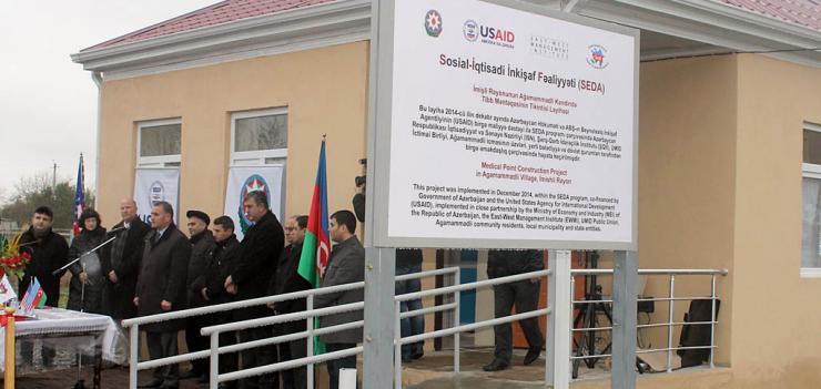Medical Point in Agammadli village of Imishli region provides medical care for 1182 inhabitants