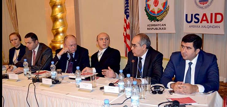 Conference participants adopted a declaration that reiterated their support for the ongoing citizen participation reforms in Azerbaijan