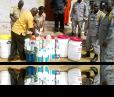 PFL Staff improves sanitation within prisons.