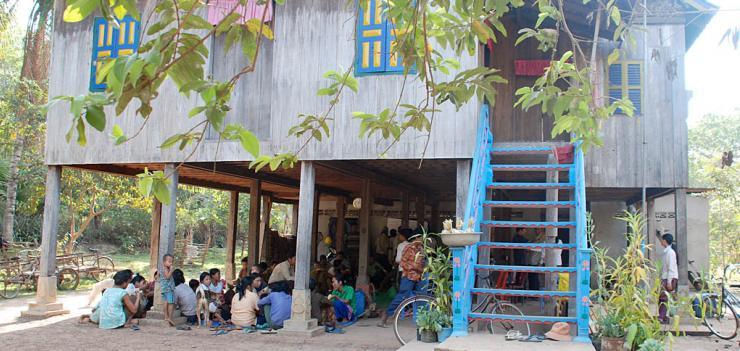Kompom Thom Province, Cambodia