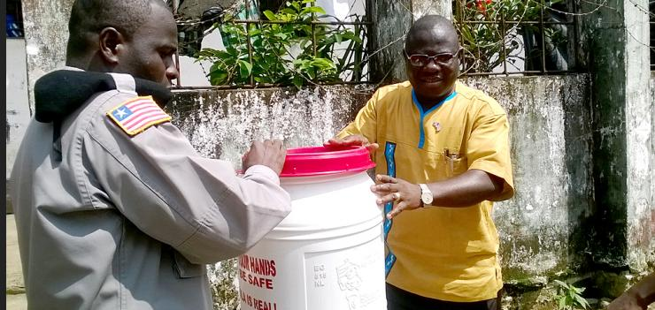 EWMI awarded a grant to PFL to support its work preventing the spread of the Ebola Virus to the prison population in Liberia.