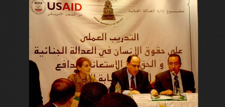 Egypt Administration of Criminal Justice Project