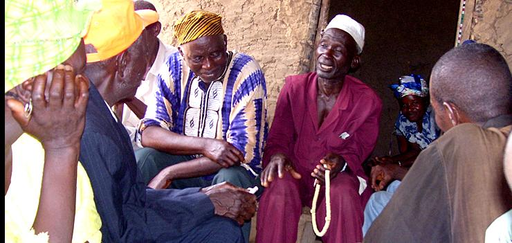 Mediation Meeting with town elders