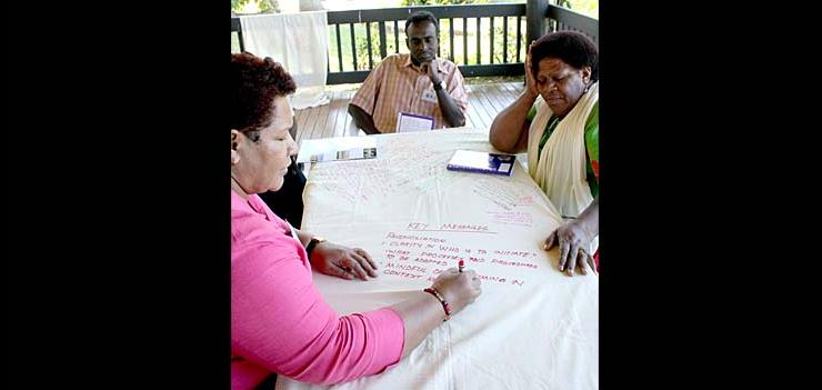 Participants discussed ways to peacefully resolve conflict