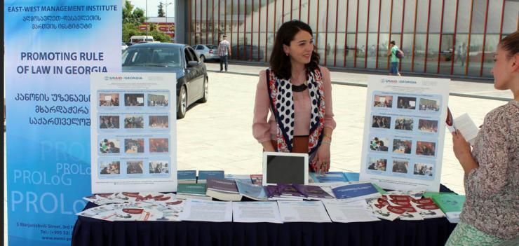 American Day in Zugdidi