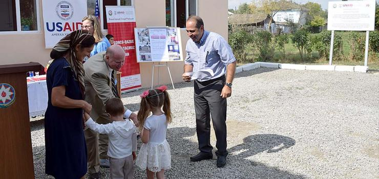 The new classrooms will improve conditions for more than 200 schoolchildren