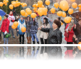 "The 16 Days against Gender-Based Violence Campaign was launch in Kyrgyzstan with the ""Orange Your Day"" flash-mob, organized by UNiTE to End Violence Against Women and Girls national movement."