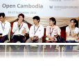 Opening Remarks at the Open Cambodia Conference [photo: Zuzana Sadkova]