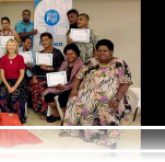 Mediators and dialogue facilitators from various parts of Fiji attended the Training of Trainers Workshop led by Sylvia McMechan
